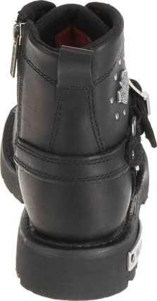 Harley Davidson ショートブーツ・ブーティ 【SALE】Harley-Davidson Becky Riding Boot (Women's)(4)