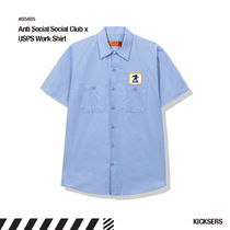 人気話題コラボ!Anti Social Social Club x USPS Work Shirt