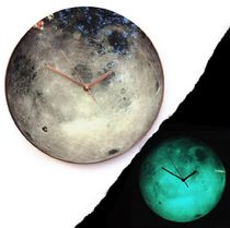 Moon Glow Wall Clock ★光る壁時計★ 25cm 36cm 50cm 60cm