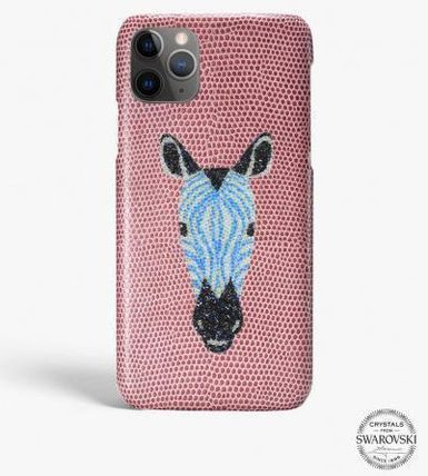 THE CASE FACTORY iPhone・スマホケース 関税送料込☆THE CASEFACTORY☆IPHONE 11 SWAROVSKI ZEBRA(2)