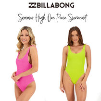 【Billabong】Summer High One Piece Swimsuit  背中美人! 水着