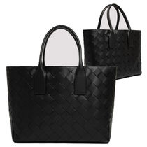 BOTTEGA VENETA East/West black tote bag