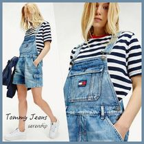 Tommy Jeans*ダンガリーショートサロペット*Blue*送料込