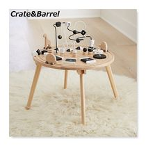 キッズ家具★Crate&Barrel★知育玩具!Wooden Activity Table