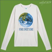 UNIF Clothing(ユニフ) Tシャツ・カットソー 【関税・送料無料】UNIF Clothing★HOME SWEET HOME 長袖Tシャツ