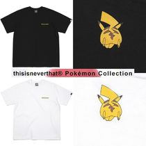【thisisneverthat×POKEMON】PKM Jump Tee BLACK&WHITE