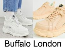 送料込 Buffalo london Corin low platform trainers 2カラー