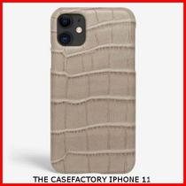 関税送料込☆THE CASEFACTORY☆IP11 CROCODILE MASTICE PATTERN