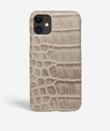 THE CASE FACTORY スマホケース・テックアクセサリー 関税送料込☆THE CASEFACTORY☆IP11 CROCODILE MASTICE MIXED(2)