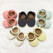 [DEAR MY BABY] PASTEL BABY RIBBON STRAP SANDALS