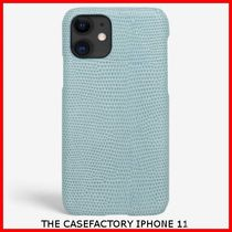 関税送料込☆THE CASEFACTORY☆IPHONE 11 LIZARD CELESTE