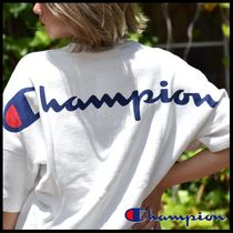 国内発送・正規品★Champion★MEN'S BIG SWEAT BACK PRINT CREW