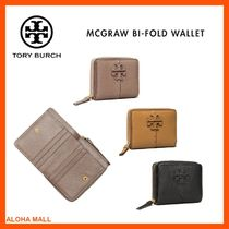 【Tory Burch】MCGRAW BI-FOLD WALLET♪人気のレザーミニ財布