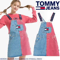 ◆Tommy Hilfiger◆DENIM COLORBLOCK OVERALL DRESS◆送料無料◆