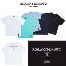 ROMANTIC CROWN★ RMTCRW SLOGAN LOGO TEE 5カラー