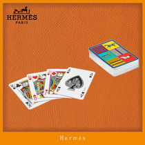 HERMES【海外直営】Couvertures Nouvelles bridge playing cards