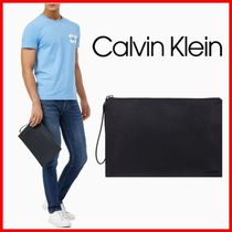 Calvin Klein_人気 ミディアム ポーチ クラッチバッグ☆正規品☆