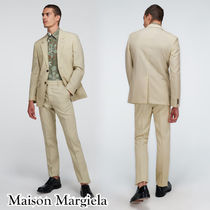 Maison Margiela Single-breasted wool suit スタイリッシュ