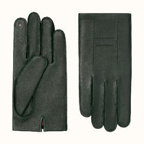 【2020SS】HERMES(エルメス) Nervures H gloves メンズグローブ