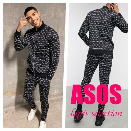 ASOS セットアップ 【セットアップ】ASOS tracksuit track top & tapered joggers