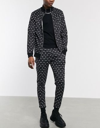 ASOS セットアップ 【セットアップ】ASOS tracksuit track top & tapered joggers(5)