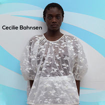 CECILIE BAHNSEN Astrid パフスリーブ ブラウス ホワイト
