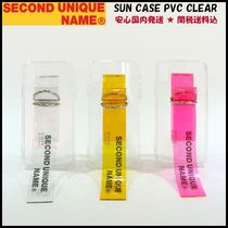 *安心国内発送【SECOND UNIQUE NAME】SUN CASE PVC CLEAR ケース