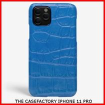 関税送料込☆THE CASEFACTORY☆IPHONE 11 PRO CROCODILE COBALT