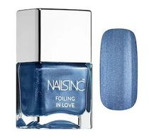 Nails Inc限定☆Space Cadet - denim blue with a silver sheen