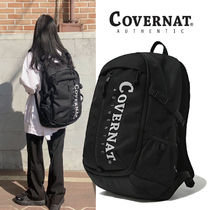 COVERNAT(コボナッ) バックパック・リュック ★COVERNAT★ C1906BG14BK AUTHENTIC LOGO TRAVELING RUCKSACK