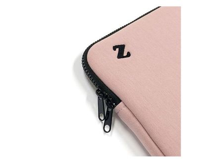 MAZZZZY スマホケース・テックアクセサリー MAZZZZY★韓国 人気雑貨★heart laptop pouch Indi pink PC CASE(13)