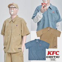 ★KFC X CRITIC★日本未入荷 韓国 シャツ CORDUROY WORK SHIRTS