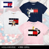 【 TOMMY JEANS × LOONEY TUNES 】相性抜群!コラボ Tシャツ♪