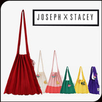 JOSEPH&STACEY☆ニットバッグ Lucky Pleats Knit M ★安全発送★