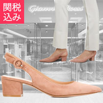 Gianvito Rossi★SALE!AMEE スエード スリングバック パンプス