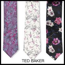 TED BAKER(テッドベーカー) ネクタイ 【TED BAKER 】お洒落!FLORAL SILK TIE 3パターン