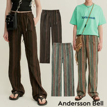 ★ANDERSSON BELL★韓国 UNISEX FREMONT ETHNIC TRACK PANTS