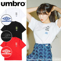 ◆日本未入荷◆UMBRO◆QUADRUPLE LOGO T-SHIRT◆送料無料◆