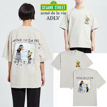 SEVENTEEN 着用 acme de la vie★DRAWING SHORT SLEEVE T-SHIRT
