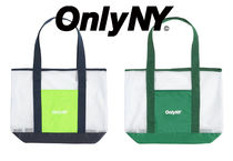 ★ONLY NY 軽くて丈夫 エコ メッシュトートバック ロゴ 送料込★