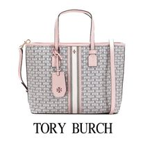 【Tory Burch 】20FW Gemini Link Canvas Small Tote