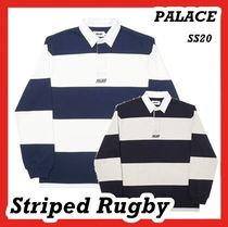 Palace Striped Rugby Polo T-Shirt Tee shirts ss 20 2020
