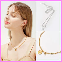 【Hei】smile & ball necklace〜スマイル&ボールネックレス