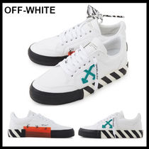 【Off-White】Low Vulcanized Sneakers