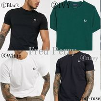 FRED PERRY(フレッドペリー) Tシャツ・カットソー 【送料込】Fred Perry/リンガー ロゴ Tシャツ