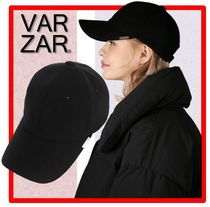 ☆人気☆VARZAR☆Wool metal buckle over fit ball cap☆