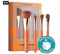 SEPHORA COLLECTION Pumpkin Infused Brush Set