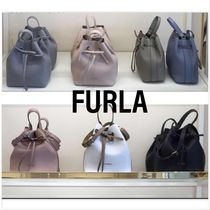 大人気!!新色【FURLA】COSTANZA Small BUCKET☆ 2WAY☆関送込