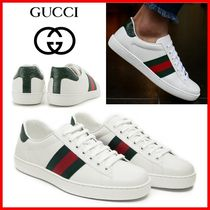 ◆GUCCI_Ace Leather Sneakers◆正規品・関税なし◆