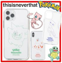 人気★thisisneverthat x Pokemon★PKM Outline iPhone Case